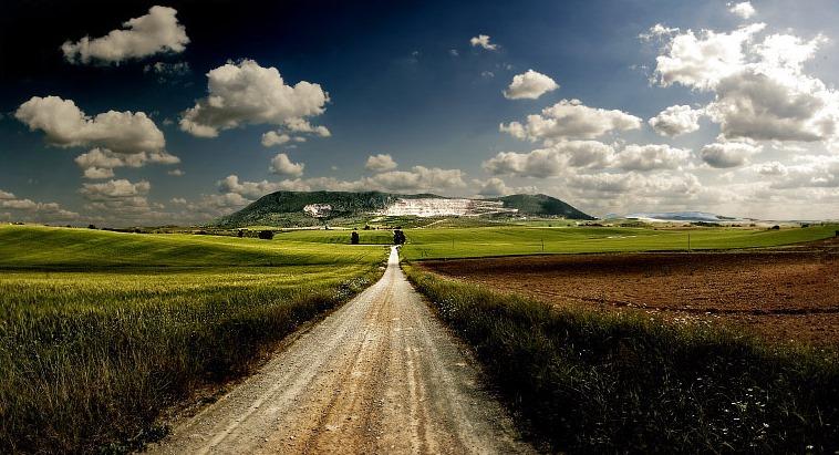 camino, sendero, continuar, ruta